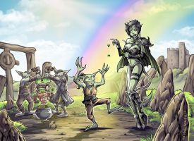 St. Goblin's Day by Avionetca by TheSteampunker