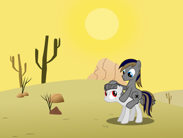 Been through the desert on a horse with no name by BRONYVAGINEER