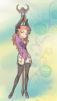 Gift Art from Neodios on Tumblr - Tera Online by Sakura-Sweet-Cherry