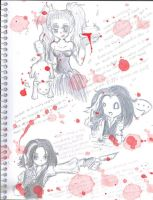 Sweeney Todd Doodles 1 by Shinomori-Misao