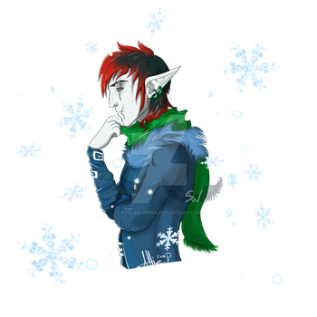Christmas Request_02 Dogi-crimson by Stolen-Wings
