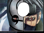 Obito (masked) Vs Kakashi by DrEaMdSiNeR