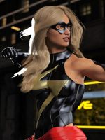 Ms Marvel pose 07 by DahriAlGhul