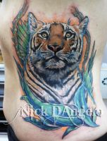 Tiger Tattoo by NickDAngeloTattoos