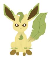Leafeon by 4themindandsoul