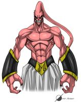 Majin Buu by Osmar-Shotgun