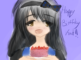 To Kait~ HAPPY SO NOT LATE BIRFFDAY! by Jayda-Nyan