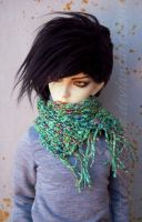 new scarf by saskha