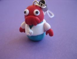 Zoidberg Phone Charm by ClayMyDay