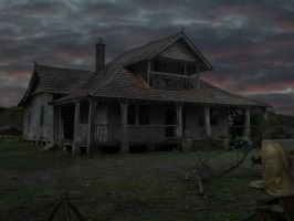 Old House 001 - HB593200 by hb593200