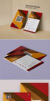 Material Design Business Card by CreativeCrunk
