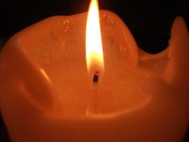 Candle without the wind. by TeeTeeGraphics