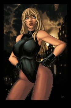 black canary 2 by funeralwind
