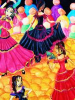 Flamenco Dancers by Ai-Don