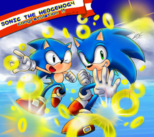 SONIC THE HEDGEHOG4 by Hanybe