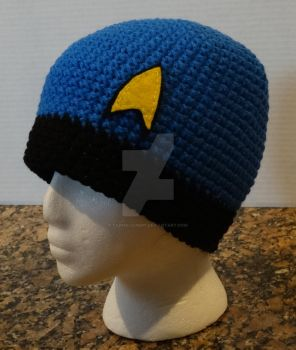 Star Trek Original Series inspired beanie by YarnAlchemy