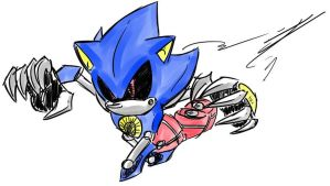 + Metal Sonic + by VoidParad0x