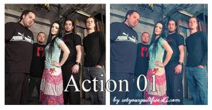 Action 01 by setyourguiltfree