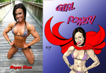 Girl Power Megan Olson By Boyann by zenx007