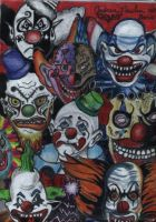 Clowns by andrea2004