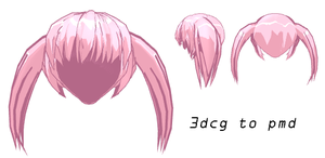 MMD - Pink Child Hair -DL by MMDFakewings18