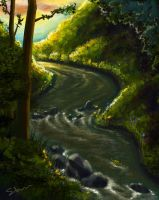 Flowing into Lorien by Norloth