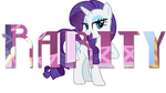 Pony behind the name: Rarity by Names-Tailz