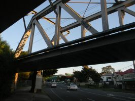 Dutton Park Train Overpass by Zomit