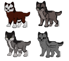 Knife x Unknown Litter by Fells-Adopts