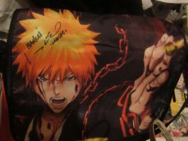 my johny young bosh autographed ichigo bag by chappy-rukia