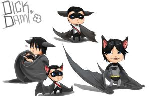 DC: moar bats again by The-third-eskimo