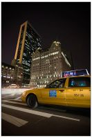 NYC Taxi by billysphoto