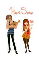 Heart Strings by AmourFonce