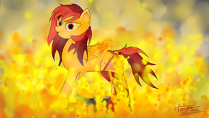 Fire Blossom by Fancymareinblue