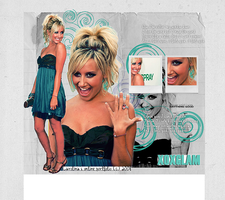Ashley Tisdale - Layout by xoxglam