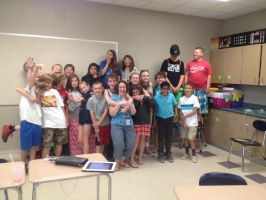 Me and my old class at Ottawa River Elementary by Riolulover20