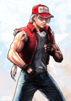 Terry Bogard_Fatal Fury trbute by SANTI-IKARI