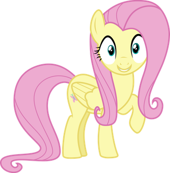 Fluttershy pleased by Uponia