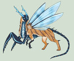 Insectiod Ourrix (Taken) by Arquerite