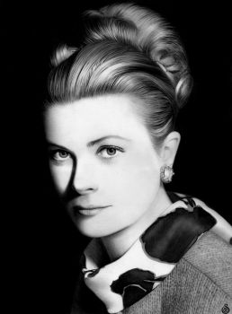 - Grace Kelly - by Stanbos