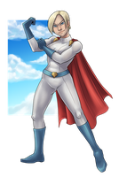 Power Girl by Pixel-Prism