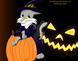 Halloween 2007-Though Late by HowlerPups