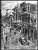 Havana After The Rain by IdrawJUNK