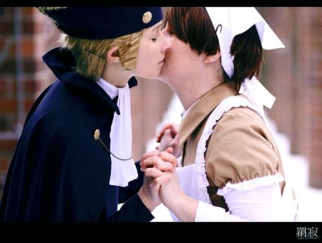 Innocent affection - APH by LucilleSmiles