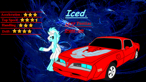 Mlp Street Racing pony's  Iced. by Mennorino