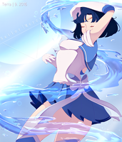 Sailor Mercury by EarthJolly
