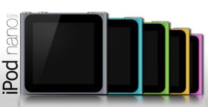 iPod nano 6th gen icons by NKspace
