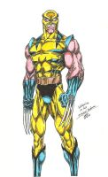 Original Costume Wolverine by jlbhh1977