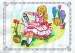 Colouring Practice For Ehya - Little Ida's Flowers by Rubina1970