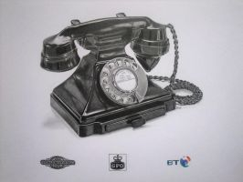 GPO Series 232 Phone by mickoc